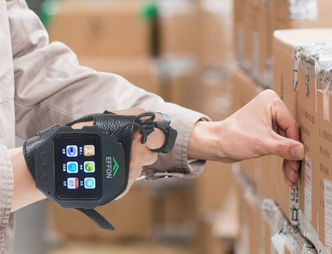 "Effon Unveils Wearable Glove Scanner""EW02 Smart Watch Android Scanner with Display"""